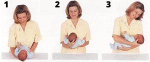 yeni doğan bebek nasıl tutulur