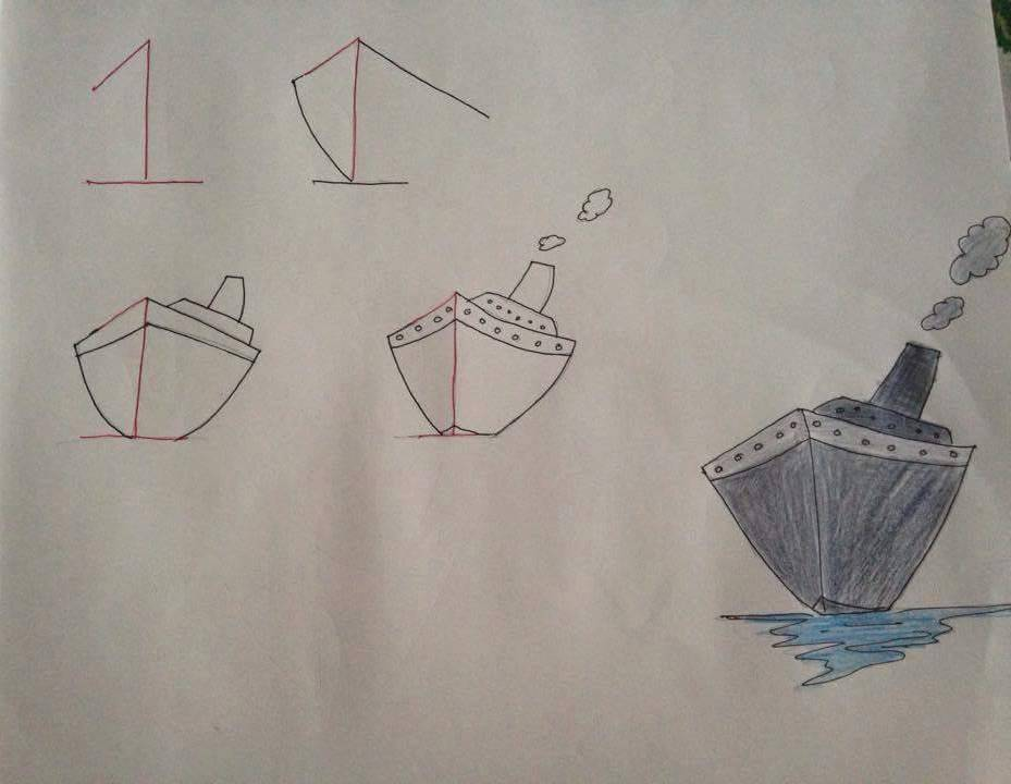 Basit Resim Teknikleri Ile Gemi Anne Tavsiyesi